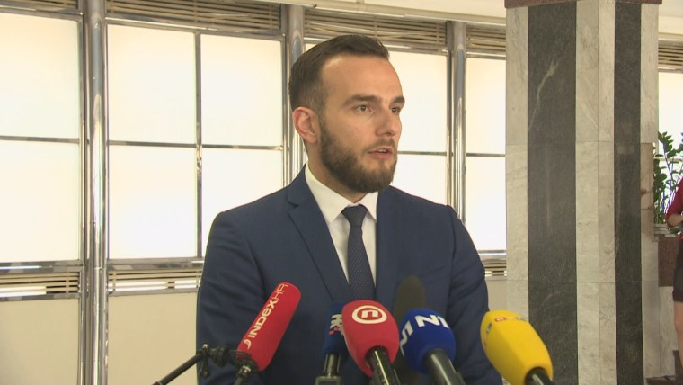 Minister of Labor and the Pension System Josip Aladrovic (Photo: HRT)