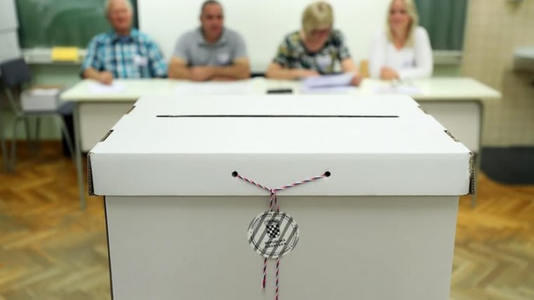 elecciones parlamentarias (Foto: Goran Stanzl/PIXSELL)