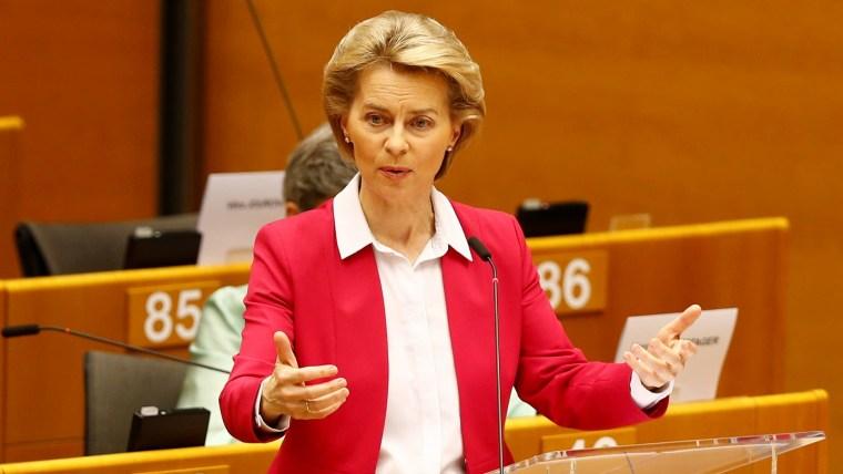 EC President Ursula von der Leyen (Photo: REUTERS/Johanna Geron)