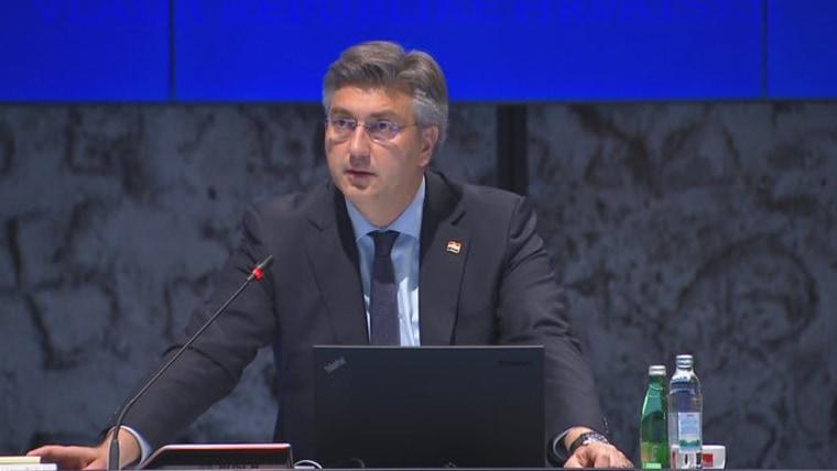 Premierminister Andrej Plenković (Foto:HRT)