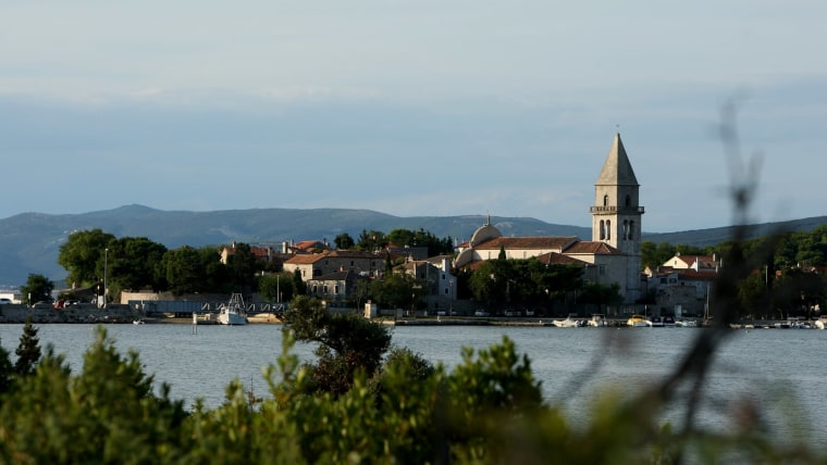 The city of Osor which connects Cres and Mali Lošinj (Photo: Boris Scitar/Vecernji list/PIXSELL)
