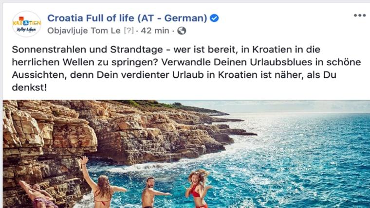 Screenshot (Croatia Full of Life FB)