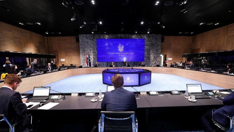 Sesión del gabinete de gobierno (Foto: Goran Stanzl/PIXSELL)