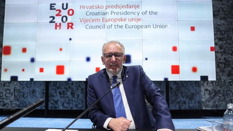Ministro del Interior, Davor Božinović (Foto: Luka Stanzl/PIXSELL)