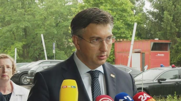 Presidente del Gobierno, Andrej Plenković (Foto: HRT)