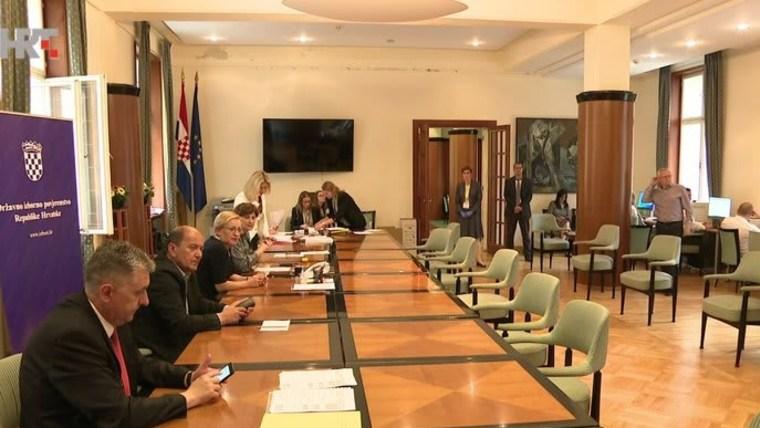 Die staatliche Wahlkommission in Zagreb (Foto: HRT)