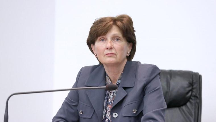 Ana Lovrin, Vize-Vorsitzende der staatlichen Wahlkommission (Foto:Patrik Maček/Pixsell)