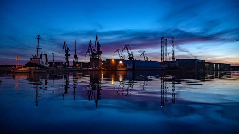 Uljanik shipyard in Pula (Photo: Srecko Niketic/PIXSELL)