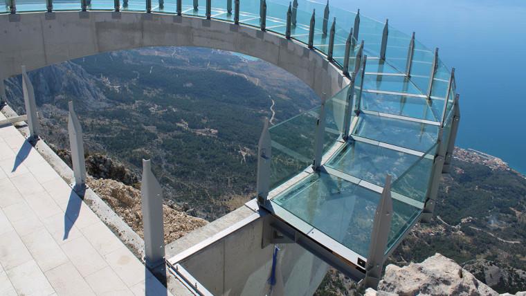 Der neue Skywalk Biokovo (Foto: PP Biokovo)