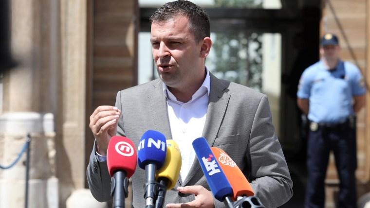HSLS leader Dario Hrebak (Photo: Patrik Macek/PIXSELL)