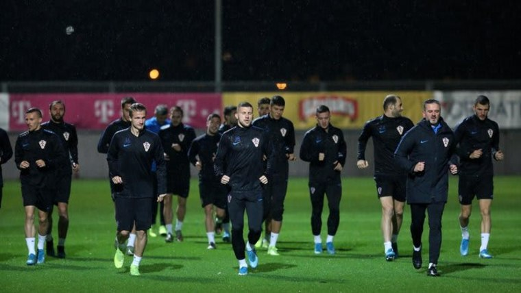 Die kroatische Fußballnationalmannschaft (Foto: Goran Kovacic/PIXSELL)