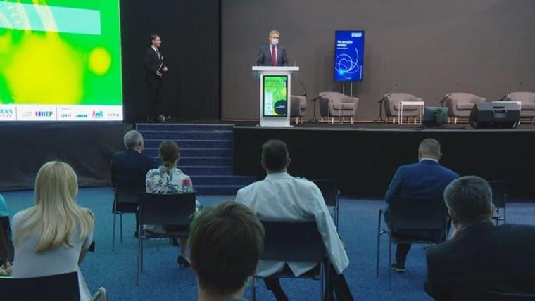 """conferencia """"El futuro energético de Croacia"""" (Foto: HRT)"""