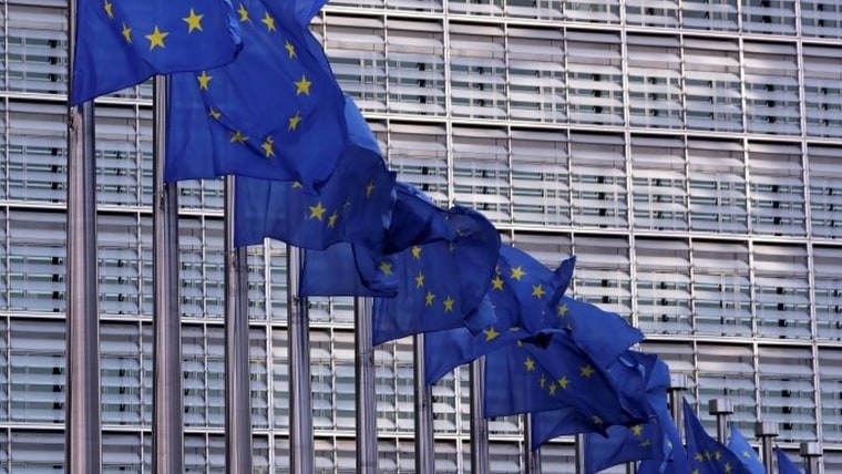 EU Flags (Photo: REUTERS/Yves Herman)