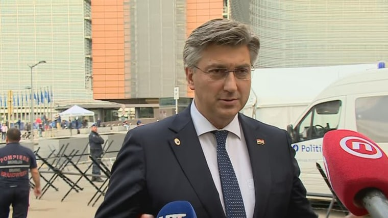 Premier Andrej Plenković (Foto: HRT)