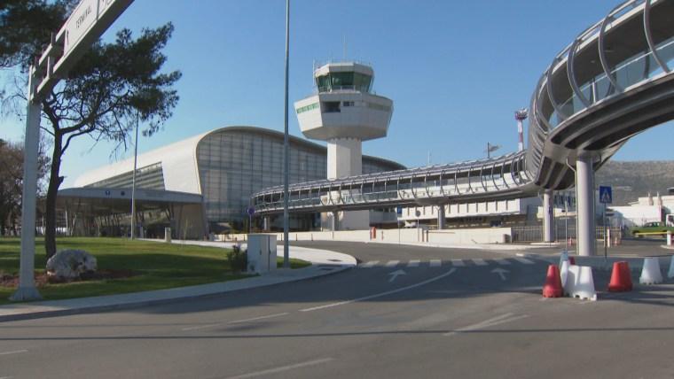 Flughafen in Dubrovnik (Foto:HRT)