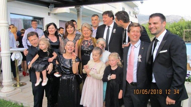 Sergio Acuña Sapunar s obitelji u Splitu (foto: osobna arhiva/ustupljena fotografija)