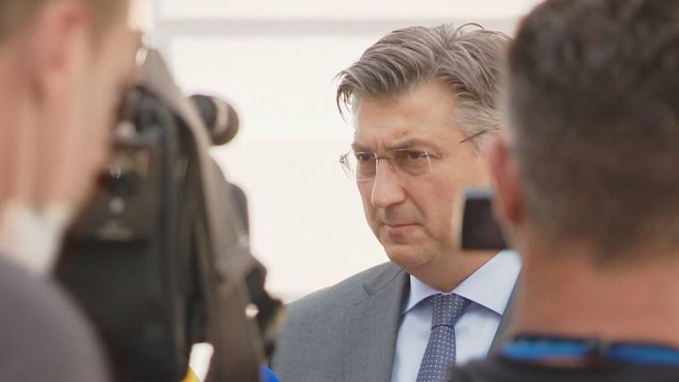 Der kroatische Ministerpräsident AndrejPlenković (Foto: HRT)
