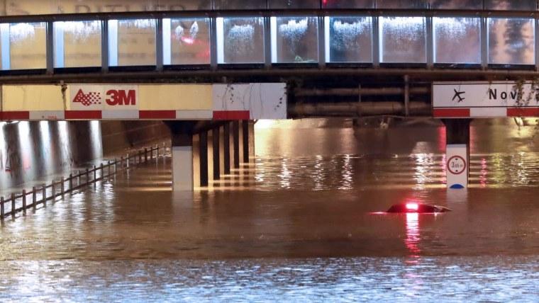 Inundación en Zagreb (Foto: Sanjin Strukic/PIXSELL)