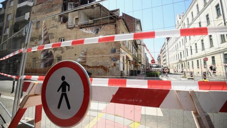 Secuelas del terremoto del 22 de marzo en Zagreb (Foto: Marko Lukunic/PIXSELL))