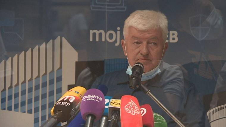 "The director of the ""Dr. Andrija Štampar"" Institute of Public Health, Zvonimir Šostar (Photo: HRT)"