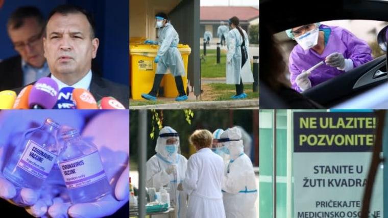 41 new cases of coronavirus in Croatia (Photo collage: HRT)