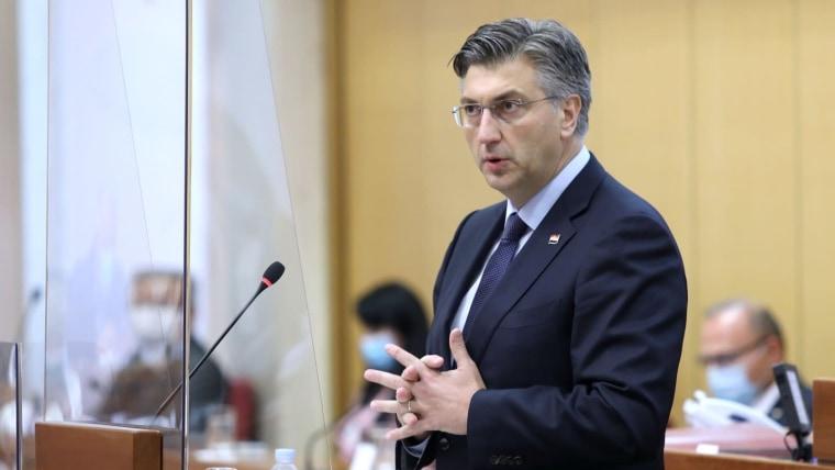 Premierminister Andrej Plenković (Foto: Patrik Macek/PIXSELL)