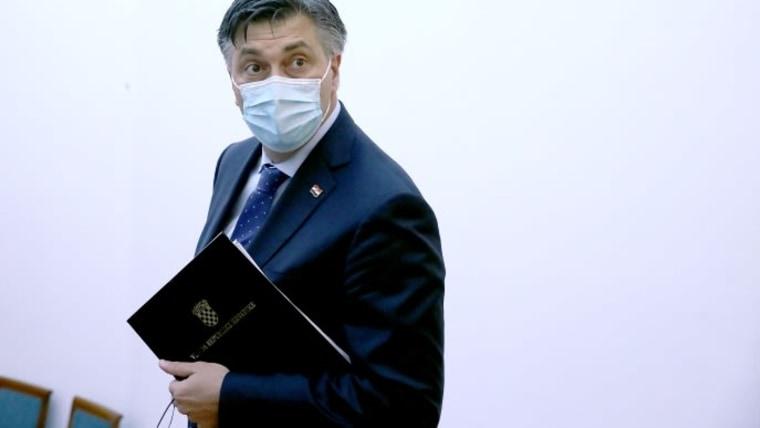 Premierminister Andrej Plenković (Foto: Patrik Macek/PIXSELL/Archivaufnahme)