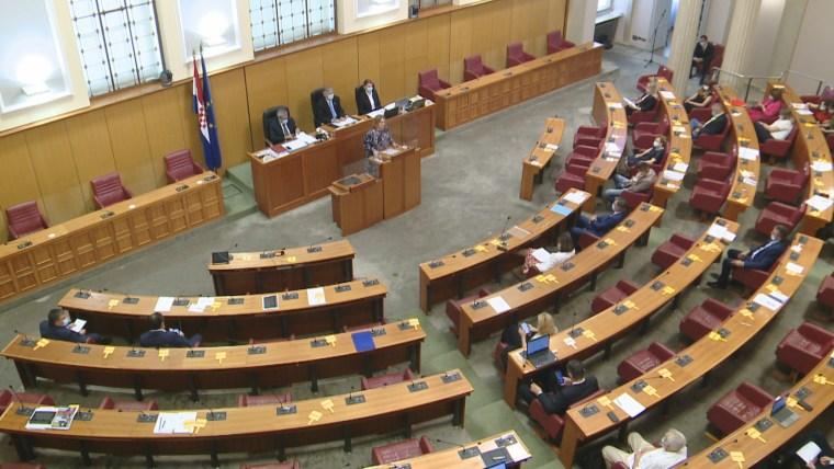 Croatian parliament (Photo: HRT)
