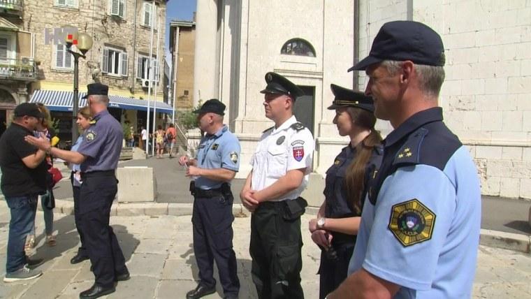 Police program for tourist season (Screenshot: HRT)