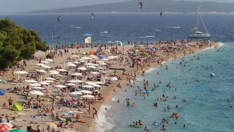 Playa Zlatni Rat en Bol (Foto: (Foto: Ivo Cagalj/PIXSELL))