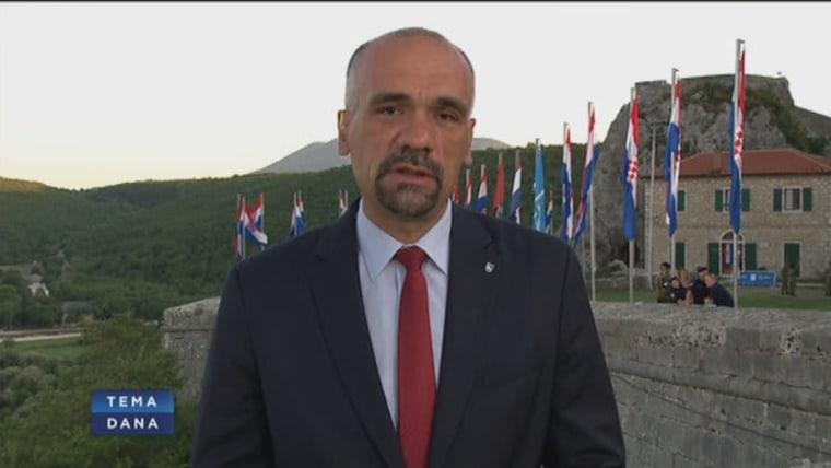 Marko Jelić, Bürgermeister von Knin (Foto:HRT)