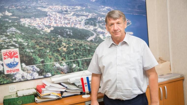 Neumski načelnik Živko Matuško (foto Grgo Jelavic/PIXSELL)