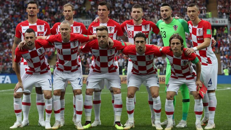 Croatian national team at 2018 World Cup in Russia (Photo: Igor Kralj/PIXSELL)
