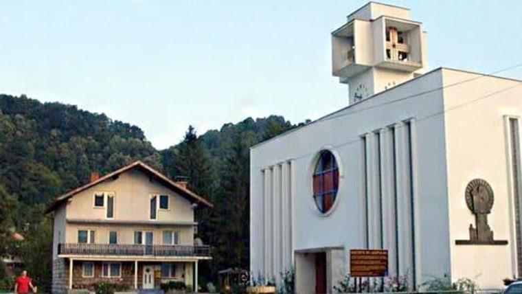 Crkva sv. Leopolda Mandića. (Foto: snimka zaslona)