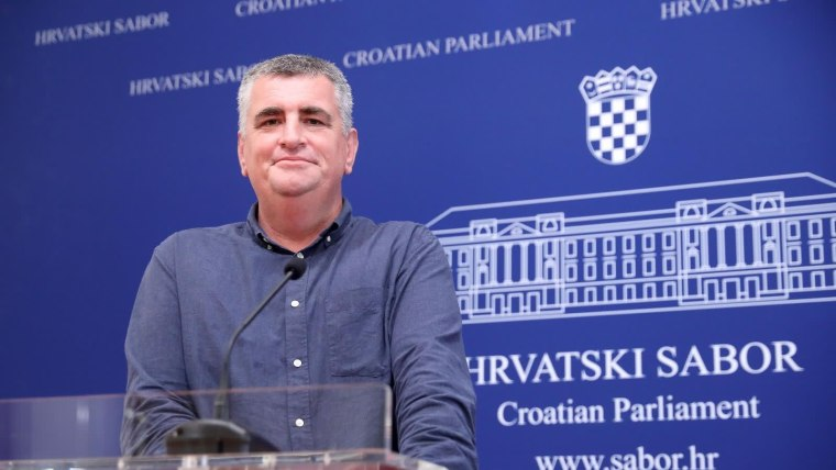 MOST party MP Miro Bulj (Photo: Patrik Macek/PIXSELL)