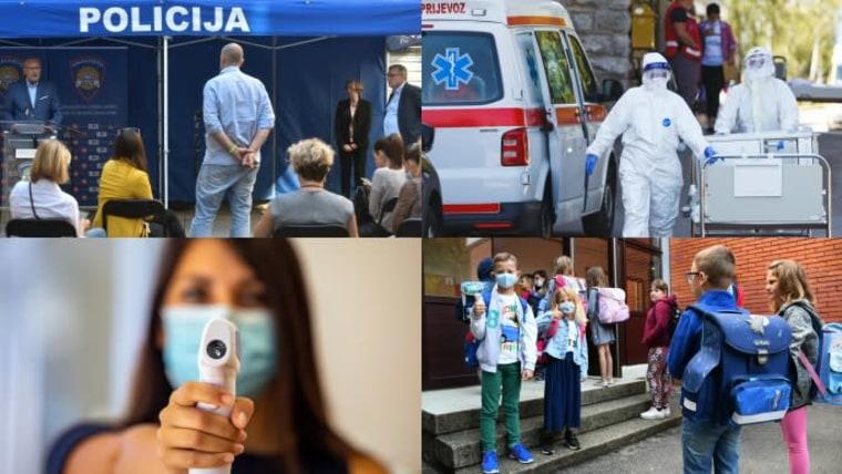 65 new cases of coronavirus in Croatia today (Photo montage: Damir Spehar/Marko Dimic/Srecko Niketic/Davorin Visnjic/PIXSELL)