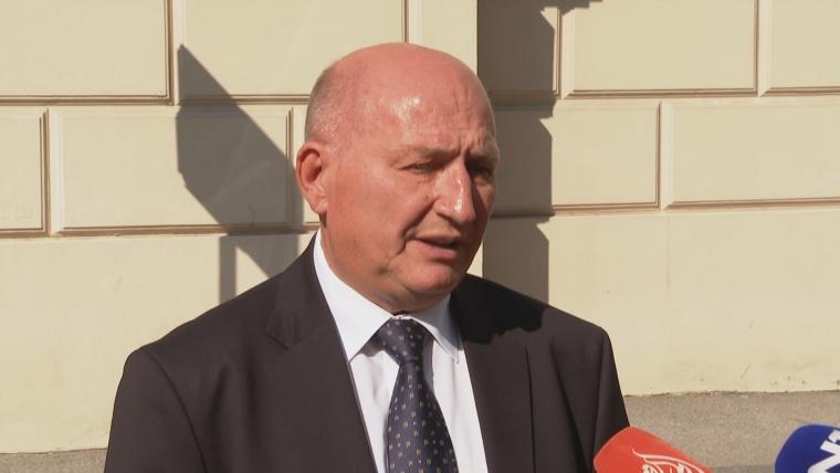 The President of the Constitutional Court Miroslav Šeparović (Photo: HRT)