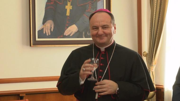 Mostar-Duvno Bishop Monsignor Petar Palić (Photo: HRT)