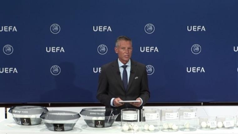 Sorteo (Foto: screenshot - UEFA)