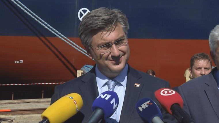 Premier Plenković (Foto: HRT)