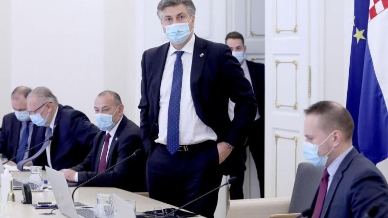 Sesión del Gobierno (Foto: Patrik Macek/PIXSELL)