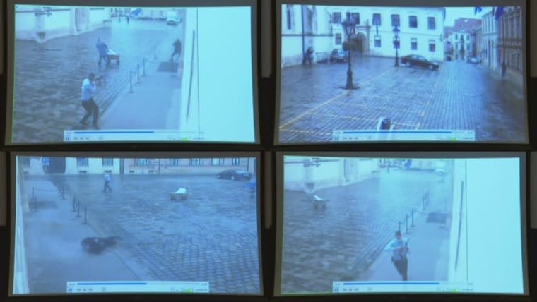 Archivaufnahme des Angriffs (Foto: Nikola Cutuk/PIXSELL)