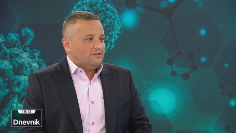 Epidemiologist Branko Kolarić (Photo: HRT)