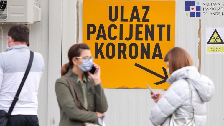 1,867 new coronavirus cases in Croatia (Photo: Luka Stanzl/PIXSELL)