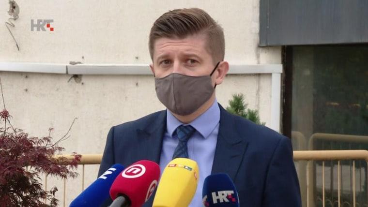 Zdravko Marić, Ministro de Finanzas (Foto: HRT)