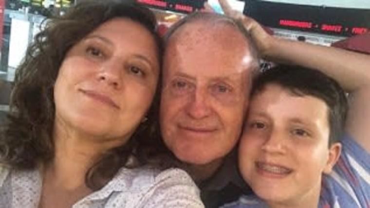 Bedrich Magaš con su familia (Foto: archivo personal)