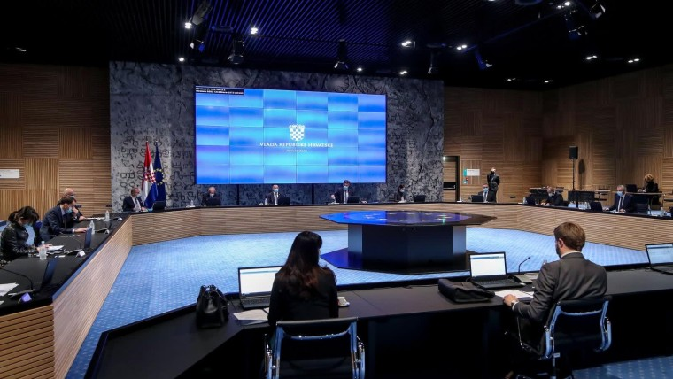 Sesión del Gobierno (Foto: Igor Kralj/PIXSELL)