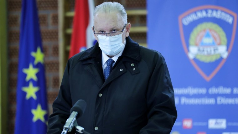 Deputy Prime Minister and Interior Minister Davor Božinović (Photo: Emica Elvedji/PIXSELL)