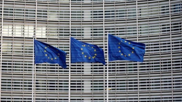 Banderas de la UE (foto: HRT)