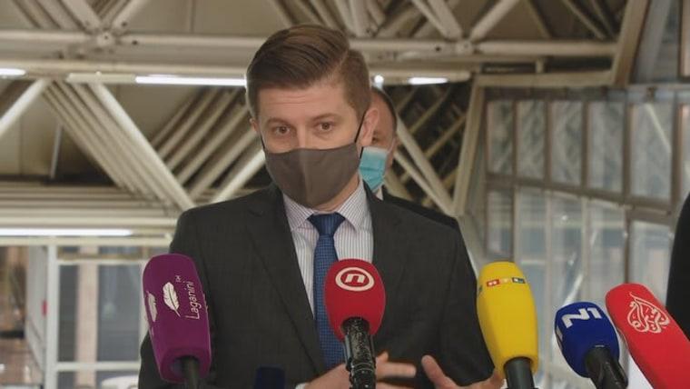 ministro de Finanzas, Zdravko Marić (Foto: HRT)